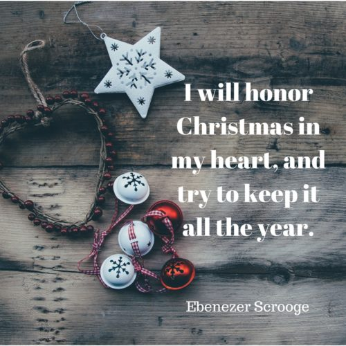 scrooge quote
